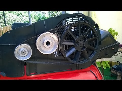Air compressor : effective way to increase flow,impressive results.