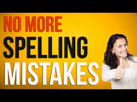 How to Write Without Spelling & Grammar Mistakes in English #123