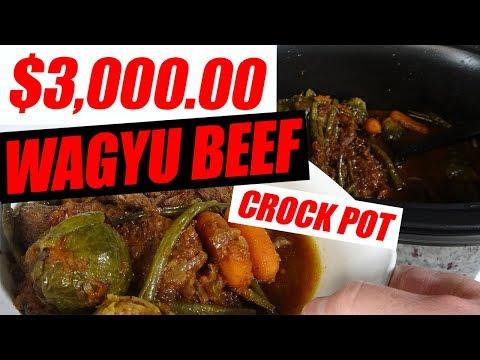 $3000 Wagyu Beef Crock pot | Braised Short Ribs