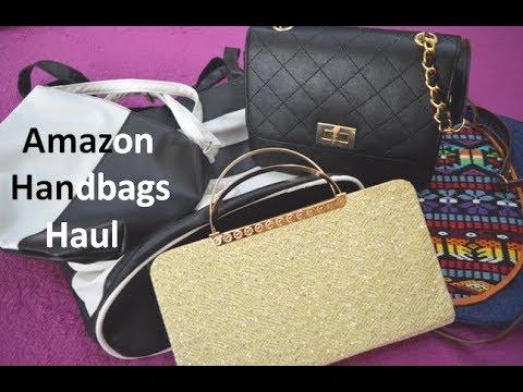 Amazon Shopping Haul | Online Handbags Haul India | Worth Buying ? | Beauty Express