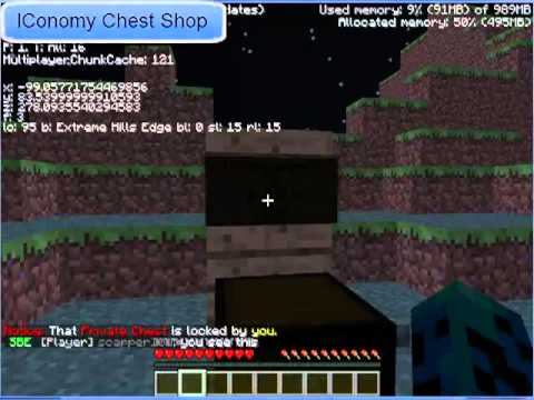 How to use Chest Shop Plugin