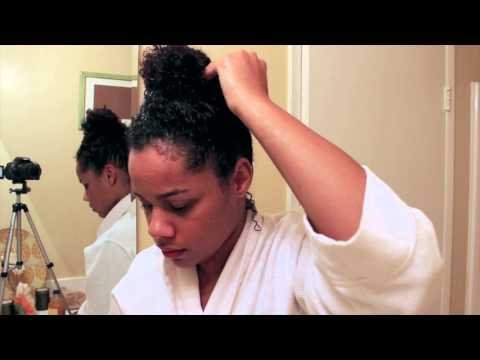Baking Soda Wash for Curly Hair! (TUTORIAL)