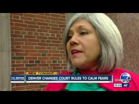 Denver changes court rules to calm fears