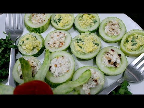 Recipe in Hindi - Cheese Cucumber Salad Recipe in Hindi - Healthy Recipe in Hindi - पनीर खीरा सलाद