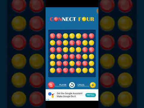 I am the world's best connect 4 player