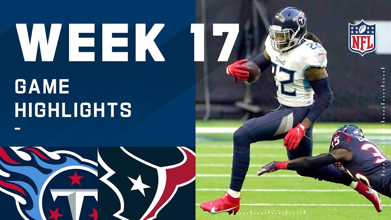 Titans vs. Texans Week 17 Highlights | NFL 2020