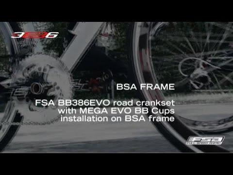How To Install A BB386EVO Crankset On A BSA Frame - FSA Road