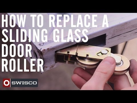 How to Replace a Patio Sliding Glass Door Roller [1080p]