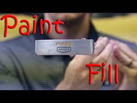 How To Paint Fill A Golf Club