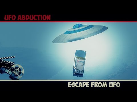 BeamNg Drive | Ufo Abduction - Mystical Story #1 (Beam ng Short Story)