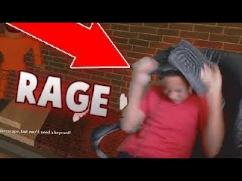 10 YEAR OLD RAGES IN ROBLOX (JAILBREAK)