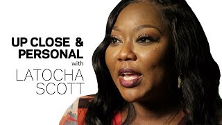 LaTocha Talks Xscap3 Reunion, '90s Fashion & Helping Younger Artists | Up Close & Personal