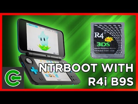 How to do Ntrboothax using R4i B9S Flashcart