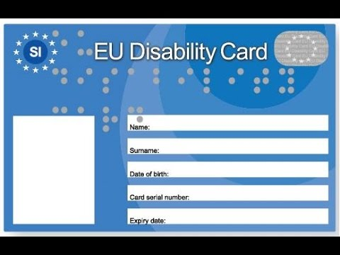 EU Disability Card - Slovenia