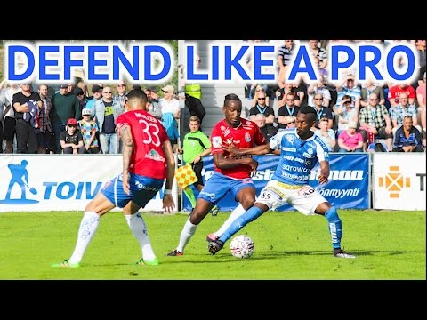 HOW TO DEFEND IN SOCCER LIKE A PRO