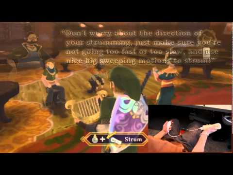 How To Play The Harp With Kina In The Legend of Zelda Skyward Sword