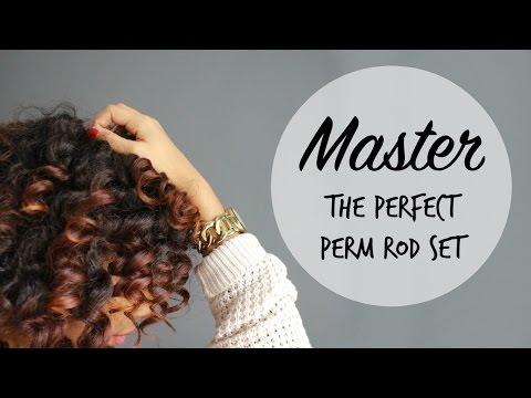 Perfect Perm Rod Set | Natural & Transitioning Hair