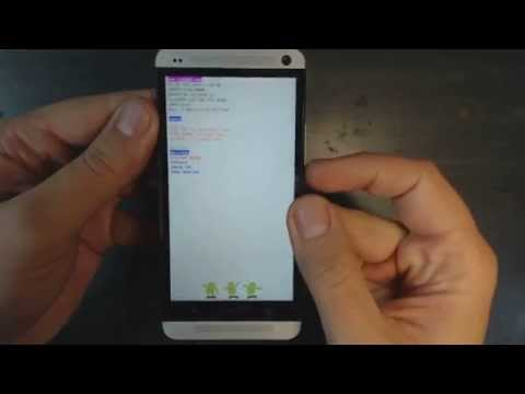 Htc One - How to remove pattern lock by hard reset