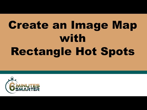 Create a Basic Image Map with Rectangle Hot Spots