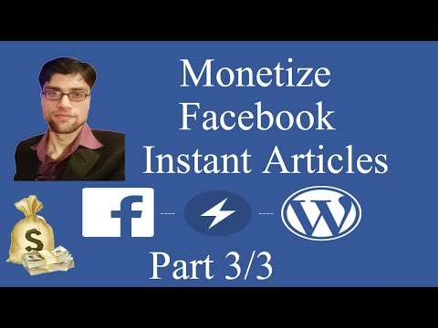 How to Insert Ads in Facebook Instant Articles for Wordpress in urdu hindi