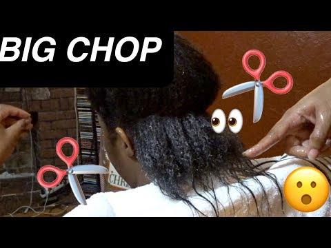 BIG CHOP 2018   Cutting My Homegirls Natural Hair