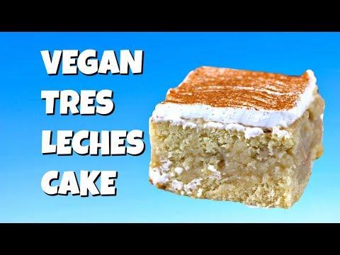 Vegan Tres Leches Cake || Gretchen's Vegan Bakery