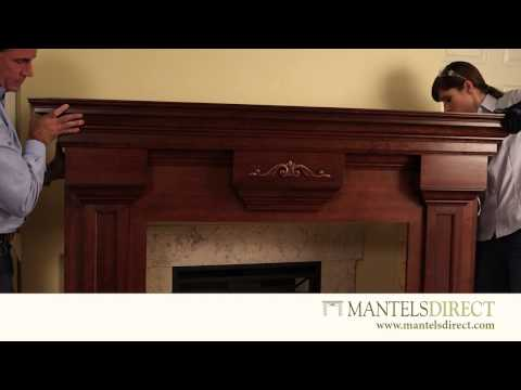 Wood Fireplace Mantel Surround | Installation | MantelsDirect.com