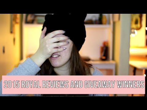 2015 Royal Reviews & Giveaway Winners | Royalty Soaps