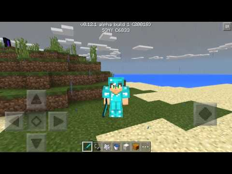 How To Get First Person In Minecraft Pocket Edition 0.12.1+ - MCPE F5 Trick