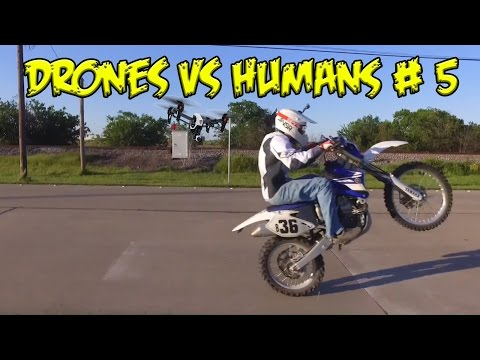 Top 5 Drones vs Humans # 5