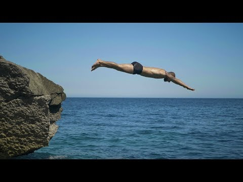 Climbing and Cliff Jumping