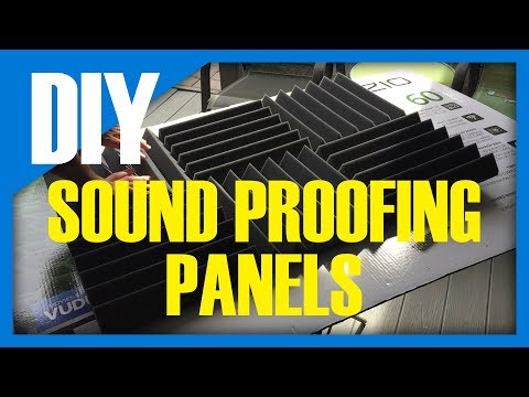 DIY - Sound Proofing Panels