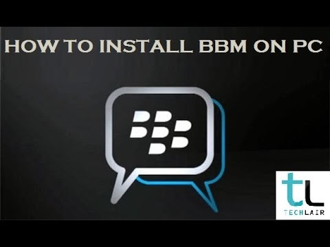 bbm on pc | How to install BBM on PC