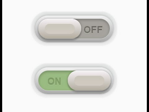 Stylish Switch Button - CSS3 and Jquery