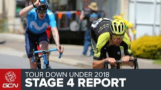 Tour Down Under 2018 | Stage 4 Report