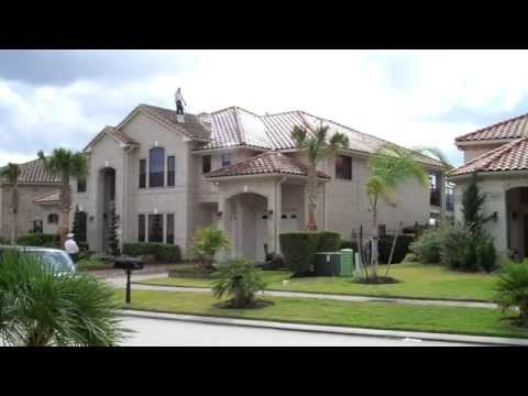 .Barrel Tile Roof Cleaning in the Windsor Park Lakes subdivision of Houston Tx 2 of 2