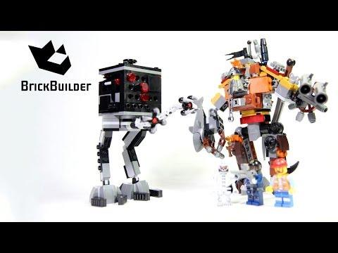 Lego Movie 70807 MetalBeard's Duel - Lego Speed Build