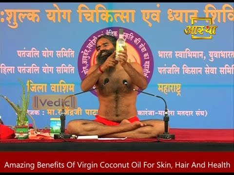 Amazing Benefits Of Virgin Coconut Oil For Skin, Hair And Health | Product by Patanjali Ayurveda