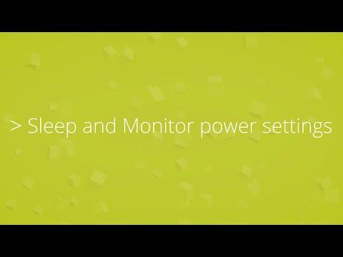 Change your Sleep and Display settings in Windows 10