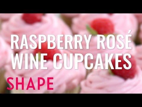 Raspberry Rosé Wine Cupcakes | Rosé Everything | Shape