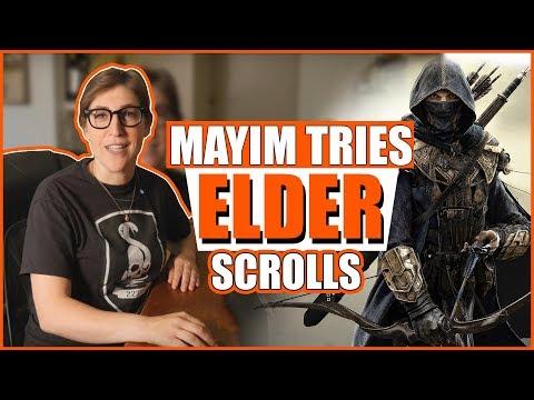 Playing Elder Scrolls Online: Part 1    Mayim Bialik