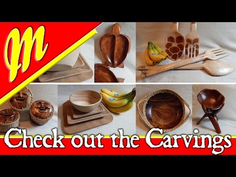The truck repair update and the Woodcarvings we brought from the Philippines. First video back