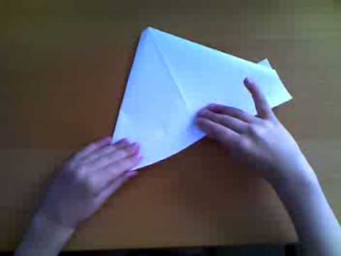 How to make a paper boat from a 6-year-old