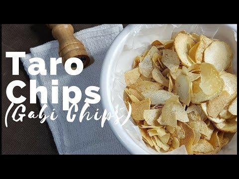 Healthy Taro Chips | Gabi Chips