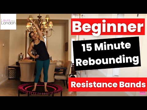 Beginner 15 Minute Rebounding Workout With Laura London