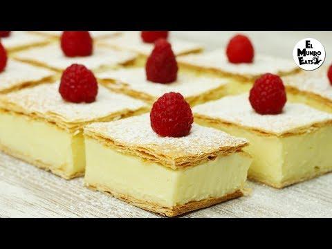 Coconut Vanilla Slice | El Mundo Eats recipe #190
