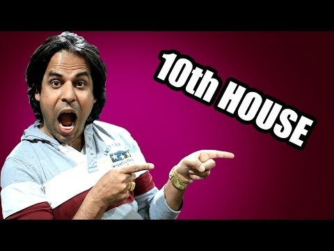 10th lord through houses and Career in Vedic Astrology