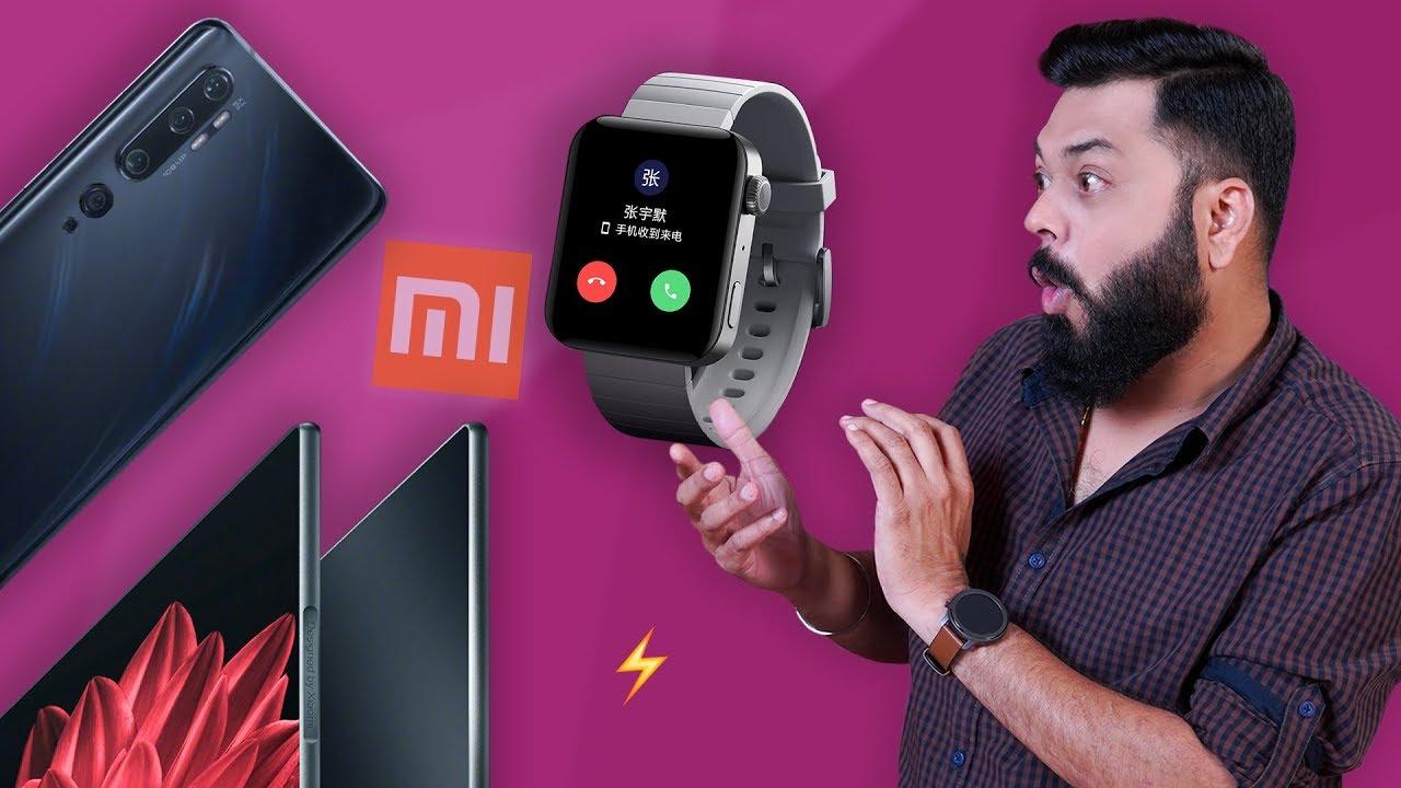 Xiaomi Mi Watch, Mi TV 5 Series & Mi CC9 Pro ⚡ Everything You Should Know!