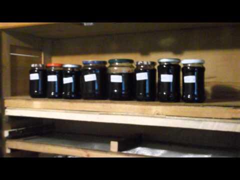 Homemade Organic Blackberry Jam