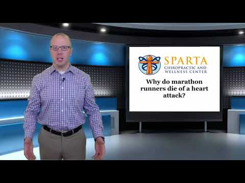why do marathon runners die of a heart attack